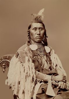 Pretty Eagle from the Crow Nation