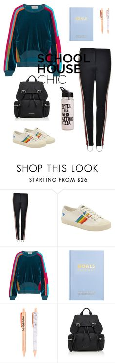 """Untitled #124"" by minnnnnka ❤ liked on Polyvore featuring Gucci, Gola, Preen, kikki.K, Burberry and ban.do"