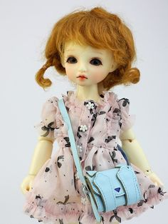 Peekaboo  Should Strap Handbag | Blythe Bags | Doll Accessories | JerryBerry, Dal, Pullip , AZONE S, Momoko, Lati Yellow, Pukifee by DollyHoly on Etsy
