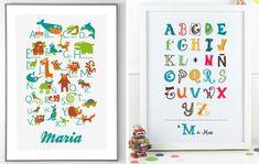 Abecedarios personalizados / Personalized alphabets