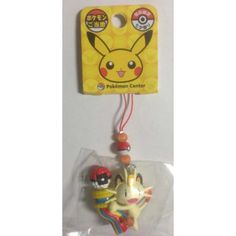 Pokemon Center Sendai 2012 Meowth Tanabata Festival Mobile Phone Strap