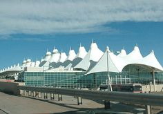 DIA - They says it should evoke the Rocky Mountains. I still say it looks like a bunch of tents. That being said, its grown on me. I like it.