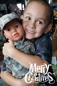 OMG could that smile be any bigger?! Could that hug be any tighter?! Thank you Kymberley for sharing your early Christmas pic. Looks like you guys are already having a Merry Christmas! #americangirl #boydolls #toys