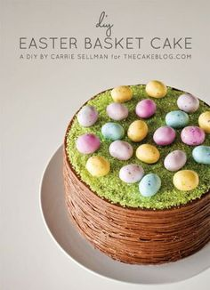 #cake #nest #eggs #easter