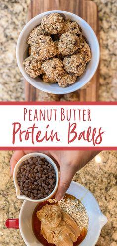 BEST Peanut Butter Protein Balls - Renee Clark Designs