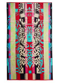 New Arrivals - Pendleton Beachside Boldness Towel in Fierce