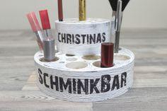 Die Duo-SchminkBar-Kosmetik wunderschön sortiert♥ von toultime auf DaWanda.com