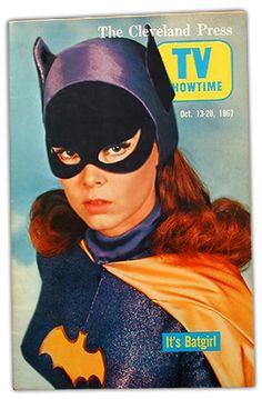 Batgirl, Yvonne Craig cover girl of the Cleveland Press TV Times, Oct. Batman Show, Batman And Batgirl, Batman Tv Series, Batman 1966, Im Batman, Batman Comics, Batman Robin, Batman Stuff, Comic Book Characters