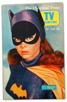 Batgirl, Yvonne Craig cover girl of the Cleveland Press TV Times, Oct. 13-20th, 1967