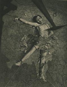 William Mortensen - Pit and the Pendulum, 1930s