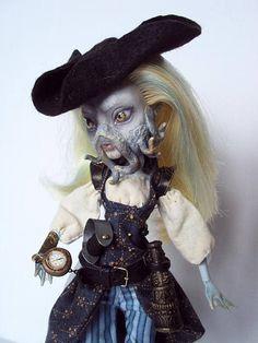 Monster High Repaint custom OOAK Daughter of Davy Jones