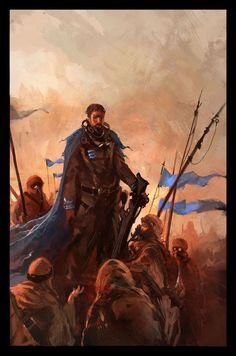 Nicolas Bouvier - Cover for Les Hérétiques de Dune by Frank Herbert, 2005 Character Portraits, Character Art, Dune Characters, Cyberpunk, Dune Frank Herbert, Dune Book, Dune Series, Dune, Rpg