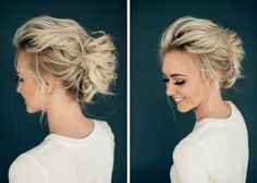Messy Prom Updos