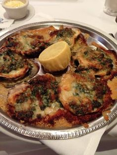 OYSTERS ROCKEFELLER      McCormick and Schmick's Recipe     Makes 2 to 3 servings     2 cups milk   2 tablespoons minced onion   1 ...