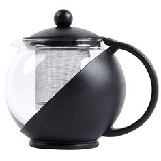 TeaPot with Infuser - 25 oz., Stainless Steel Infuser, Glass Carafe Update International http://www.amazon.com/dp/B00FYHJEAQ/ref=cm_sw_r_pi_dp_RNVavb1NKGKFN