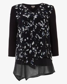 Order the smallest size as they come up big. Phase Eight Lenia Printed Blouse Blue