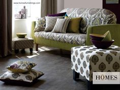 Let your #Interiors have Rich & Royal look with #Embroidered #Upholstery by #HomesFurnishings. Explore more on www.homesfurnishings.com #HomeDecor #RoyalLook #RoyalTouch #Furnishings #Cushions #EmbroideryFurnishings
