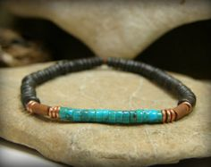 Mens Bracelet Mens Jewelry Mans Bracelet by StoneWearDesigns