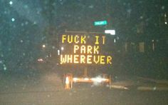 Curiosities: Hacked Traffic Signs