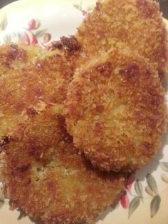 "A New Twist on an Old Southern Favorite: ""Baked"" Fried Green Tomatoes - Baked to a golden brown and ready to eat"