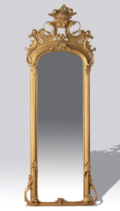 Buy online, view images and see past prices for c. Long Mirror, Diy Mirror, Victorian Mirror, Diy Wall Decor For Bedroom, Mirror Painting, Luxury Estate, Victorian Furniture, Home Accents, Baroque