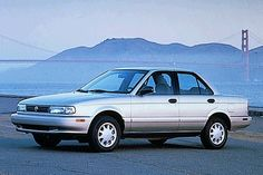 #1..My first car 1993/1994 Nissan Sentra. Bought if from my sister. It was dark gray. Good first car...