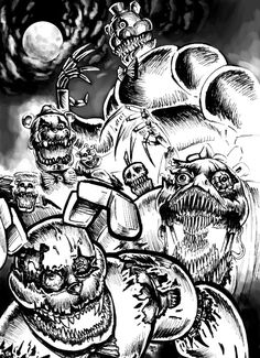 Fnaf Drawings, 6th Birthday Parties, Five Nights At Freddy's, Video Games, Fanart, Marvel, Purple, Random, Party