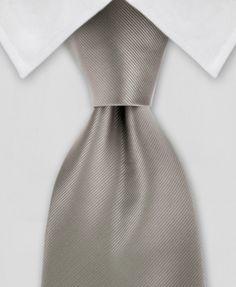Dark Silver Tie