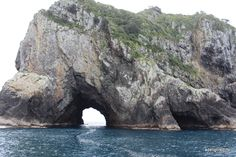 Hole in the rock, Bay of Islands New Zealand.