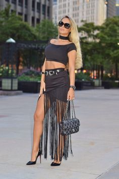 If there's one trend you want to make sure has a place in your fall  wardrobe, it's fringe...