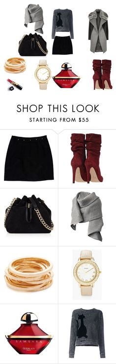 """""""New York 2"""" by gloria-nat on Polyvore featuring Loeffler Randall, Karen Millen, Acne Studios, Kenneth Jay Lane, Chico's, Chanel, Guerlain, Marc Jacobs and River Island"""