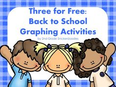 Classroom Freebies Too: Back to School Graphs