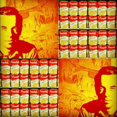 Série Campbell's Power Mytho Pop Art Número 2 By Miguel Ariloque #instagranart #popart #josephcampbell #Arte #artedigital #soapcampbell
