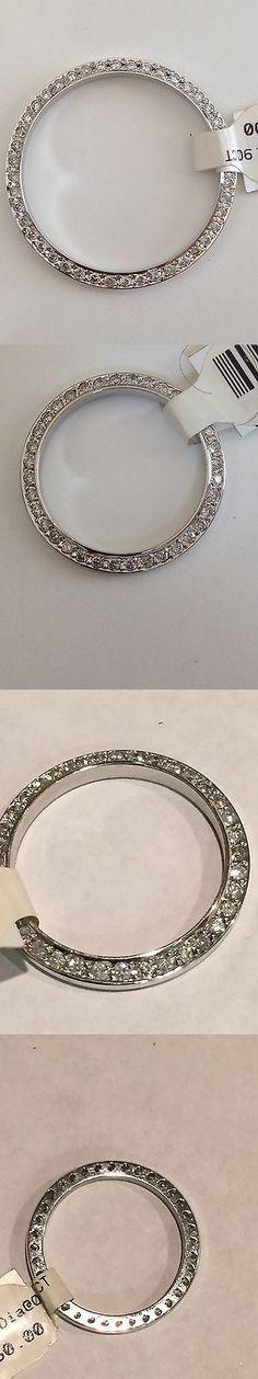 Bezels and Inserts 57714: Rolex Men-Datejust-Diamond0.90 Ct 18 K White Gold- Watch 36Mm Bezel Vs2-G- -> BUY IT NOW ONLY: $849.95 on eBay!