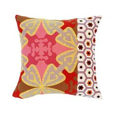 Rennie & Rose Design Group Susan Sargent Ibis Accent Pillow | Wayfair