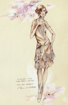 The Great Gatsby (1974) by Francis Ford Coppola. Costume design for Mia Farrow