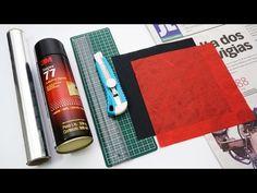 Cómo hacer Papel Sándwich (Tissue-foil) - Consejo de Origami #4 - YouTube