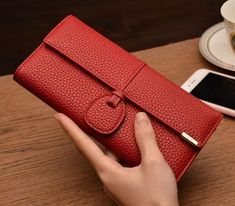 Leather Wallets for Women Card Holder Clutch #walletsforwomen