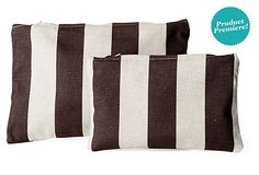S/2 Cosmetic Bags- add to the sewing list when making the garment bags.