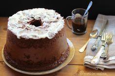 Chiffon cake al caffè - Meri in cucina American Cake, Chiffon Cake, Bundt Cakes, Cake Cookies, Tiramisu, Aurora, Cake Recipes, Food And Drink, Cooking