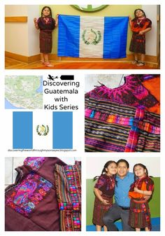 Discovering The World Through My Son's Eyes: Authentic Guatemalan Dresses for Girls - Trajes de Chichi