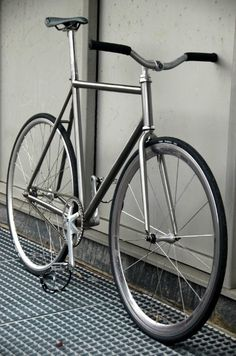 Titanium fixed gear