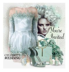 """""""You're Invited: Celebrity Wedding contest"""" by benzin ❤ liked on Polyvore featuring Ted Baker, Barneys New York and Gucci"""