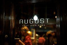 New Orleans chef John Besh's restaurant August - 301 Tchoupitoulas Street, New Orleans, LA 70130