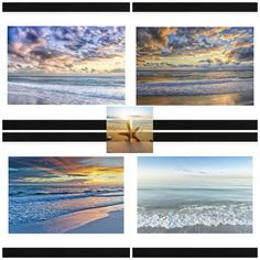Meet your next wall grouping of framed art prints!  Add coastal appeal to your home or office with our beautiful high quality framed art prints.  Add one to a small space that needs some dressing up or a large wall grouping for a beautiful coastal room.  Available at SeasideBeachDecor.com.