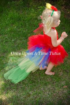 Check out this item in my Etsy shop https://www.etsy.com/listing/230912550/red-macaw-parrot-tutu-birthday-photo