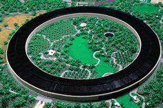 Det tog to år at bygge Apple Park af LEGO British Architecture, Lego Architecture, Round Building, Lego Building, Landscaping Equipment, Glass Pavilion, Micro Lego, Lego Worlds, Arquitetura