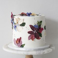 Sunflower Birthday Cakes, Soul Cake, Beautiful Wedding Cakes, Mini Desserts, Cakes And More, Treat Yourself, Cake Decorating, Decorating Ideas, Cake Designs