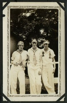 > Being bad. 1920s.