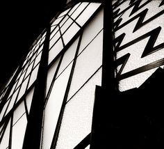 NYC ZZZ Window  Original black and white photograph